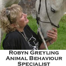 Robyn Greyling animal behaviour specialist